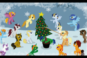 Christmas snow (animation) by Bethiebo