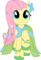 Fluttershy Gala by BreAuna