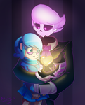 Lewis and Vivi by VallionShad