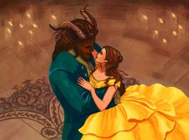 Beauty and the Beast by ChristyTortland