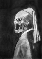 Zombie with a Pearl Earring by PolishPsycho