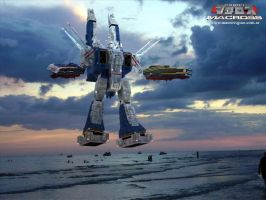 SDF-1  V-ray Version by asgard-knight