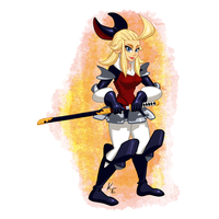 Bravely Default Edea by KeithAErickson
