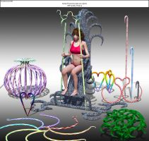 CandyThrone WIP21 by Kreat3D