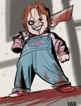 Chucky Cosplay Drawing by BobbyRubio