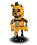Adventure Withered CircusFredBear by FNaFEditorist50