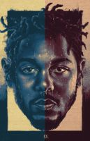 Kendrick Lamar (The Blacker The Berry) Art by MyPseudonym7