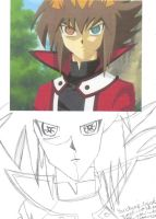 Yubel Judai, Quick Sketch by Inufan078