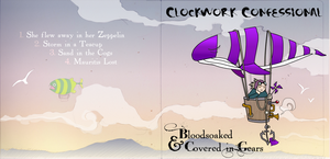Clockwork Confession cover by melanippos