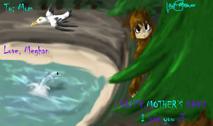 Le Mother's Day Card by LavaSpinosaurus