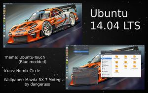 Ubuntu Desktop by hfcf