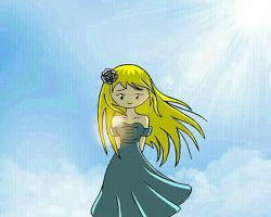That heavenly glow. by cartoongirl211