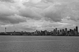 Seattle BW by kdarbin19