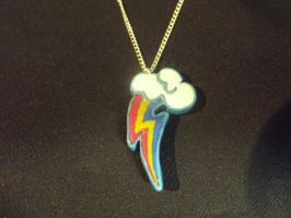 Rainbow Dash Pendant by Eyricat