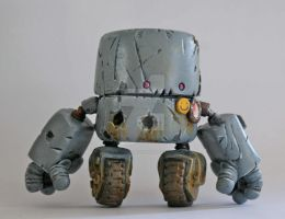 Rusty Robots S1 Rollerboy by SpaceCowSmith