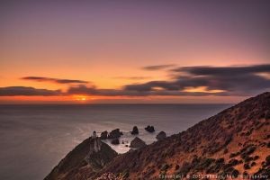 Nugget Point Sunrise by AdrianAmeno