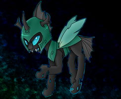 That One Random Changeling by astrequin