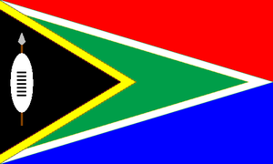 South African Union flag by kyuzoaoi