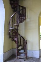 Wooden stairway of 1912 by A1Z2E3R