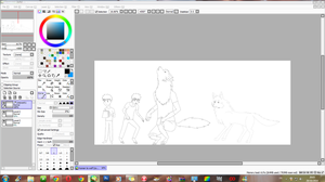 WIP - Human to wolf by JackFrostOverland