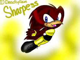 Sharpess The Owl: New Chara by DeadlyClaws