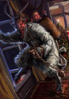Krampus! by Mitchellnolte