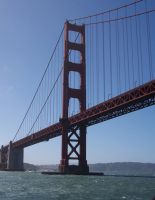 Golden Bridge 1388568 by StockProject1