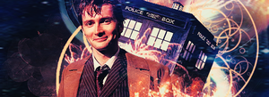 The Tenth Doctor- Banner by miss-mustang