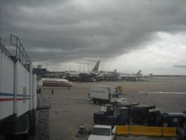 Cloudy day in Chicago by Boeing787