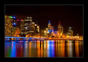 Melbourne CBD by Cameron-Jung