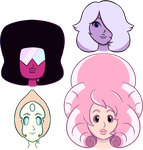 We Are the Crystal Gems! by GossamerPitfalls
