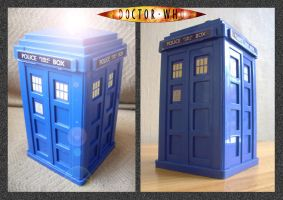 Doctor Who - Tardis Money Box by mikedaws