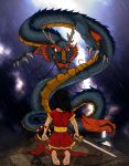 Nezha and the Dragon King by AcaciaTree
