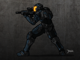 UEC Trooper Concept by Blazbaros