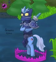 2nd Draw a Champ into a Pony Contest - Shen Color by Geoberos