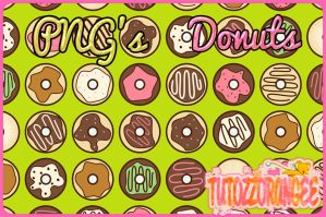 PNG's Donuts by TutozzOrangee