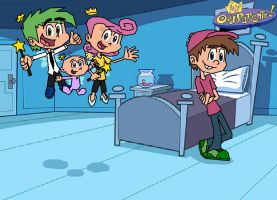 The Fairly OddParents Family by digiphantom1994