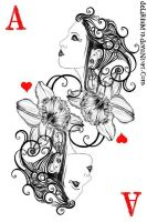 ace of hearts by vasodelirium