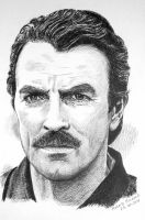 tom selleck by RobertoBizama