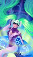 DJ Sona by RainbowfiedMaya