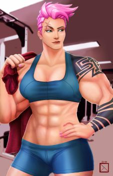 Zarya by AggroArt
