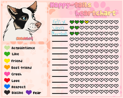 HT| Melody's heartchart by DancingOrbi
