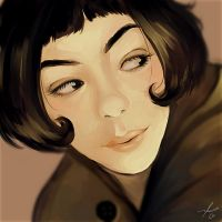 Amelie Poulain by cosmogirll