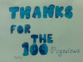 Thanks for the 100 Pageviews by DenyloveThomas