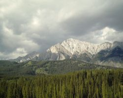 Banff Rockies by Lancerlover