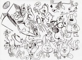 12-22-2014 Sketches 01583 by spongefox