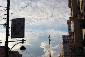 Moscow street sky 2 by LifeFun
