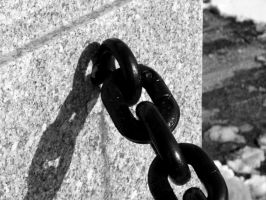 Chained in BW by TriciaStucenski