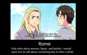 What Rome talks about by Kaxily