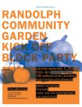 Community Garden Flier by MrBadger